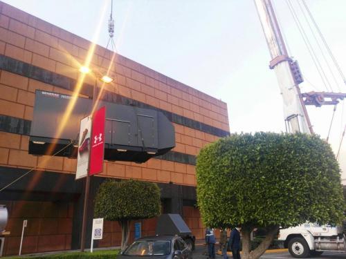 Generador electrico a diesel para centro comercial