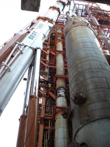 remplazo de pakinox en refineria de tula